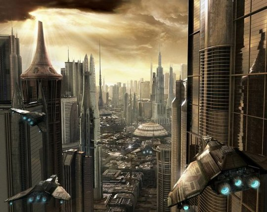 Futuristic City Scifi