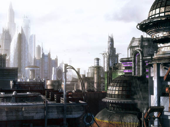 Industrial City Scifi