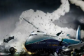 Airplane Crash photoshop