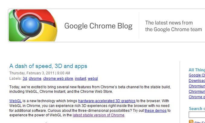 Google Chrome 9 Released and Credits Reddit for Bug Fix | Inferno