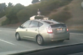 Google self-driving toyota