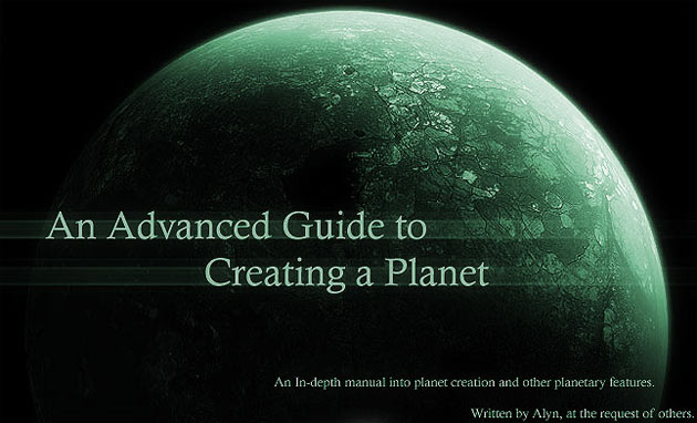 Advanced Planet Tutorial
